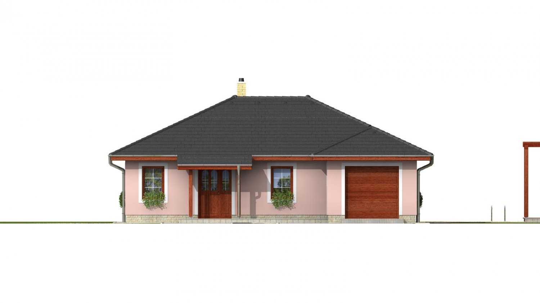 Pohľad 1. - Nádherný murovaný dom s garážou a priestranným suterénom. Možnosť realizácie bez suterénu.