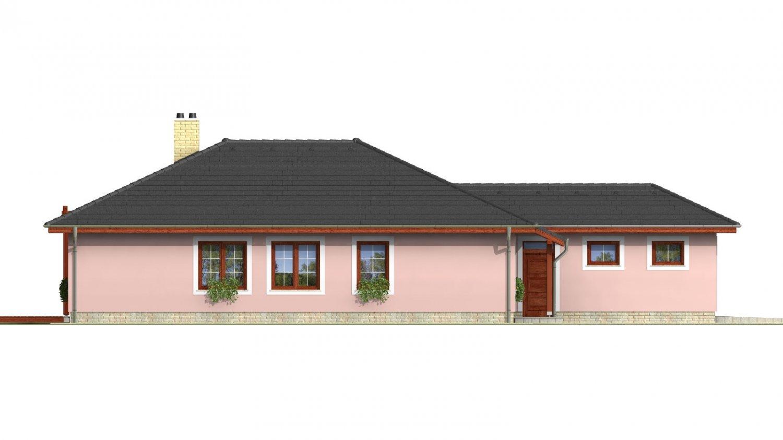 Pohľad 2. - Nádherný murovaný dom s garážou a priestranným suterénom. Možnosť realizácie bez suterénu.