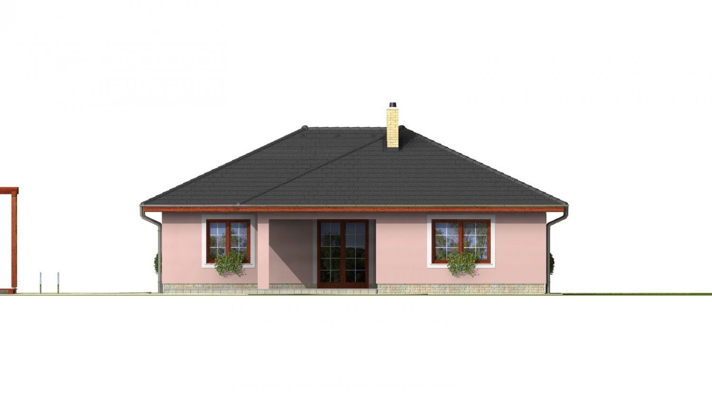 Pohľad 3. - Nádherný murovaný dom s garážou a priestranným suterénom. Možnosť realizácie bez suterénu.