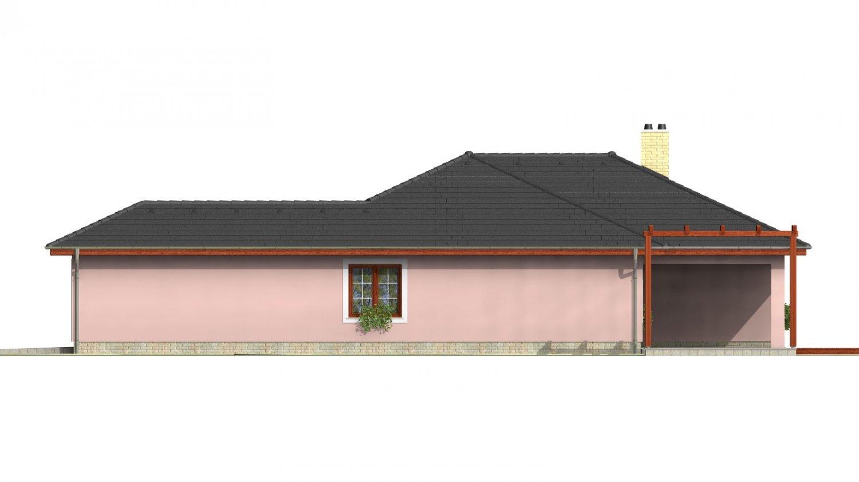 Pohľad 4. - Nádherný murovaný dom s garážou a priestranným suterénom. Možnosť realizácie bez suterénu.