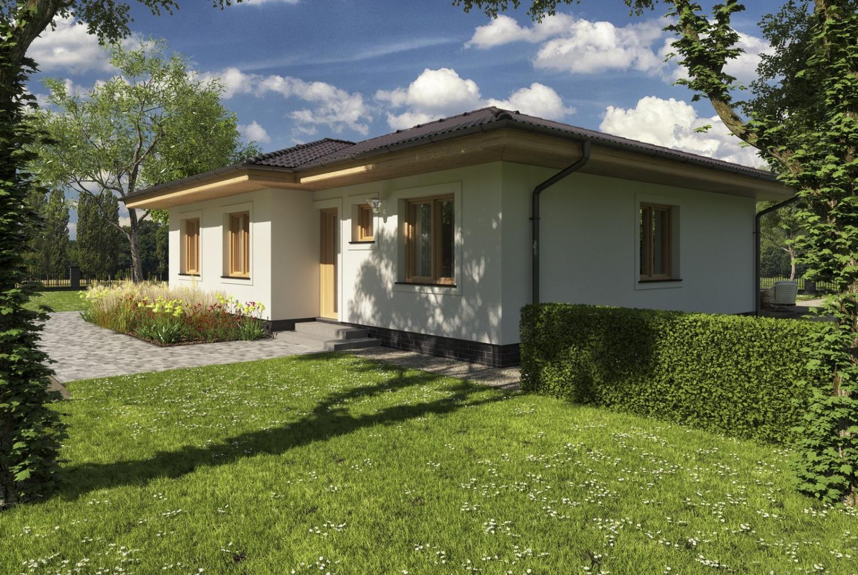 projekt domu BUNGALOW 94
