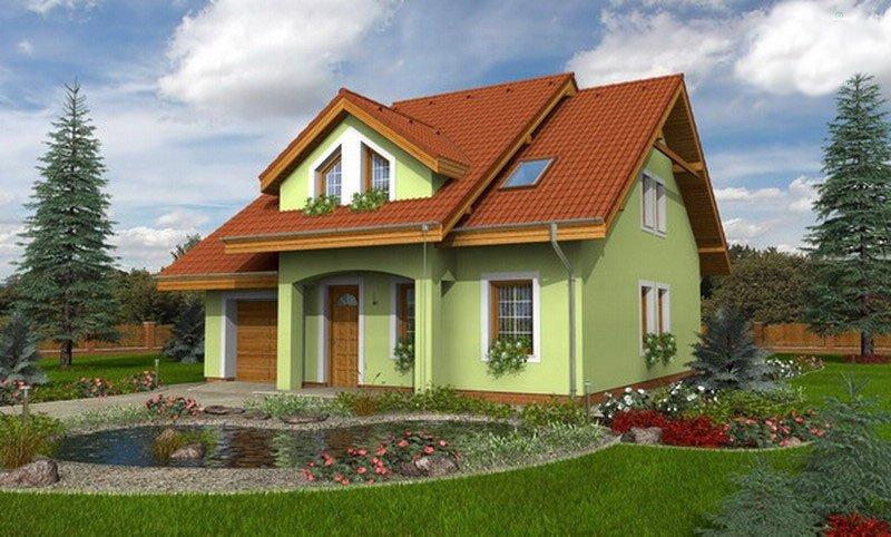 projekt domu COMFORT 107