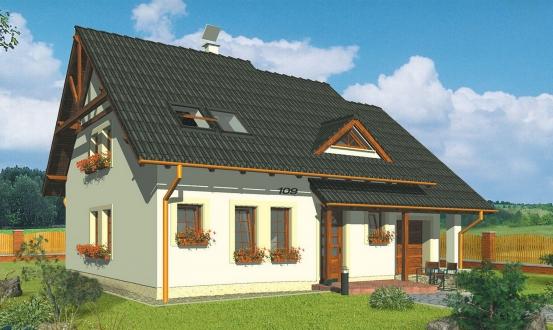 projekt domu COMFORT 109