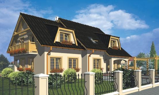 projekt domu COMFORT 124