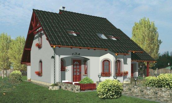 projekt domu COMFORT 134
