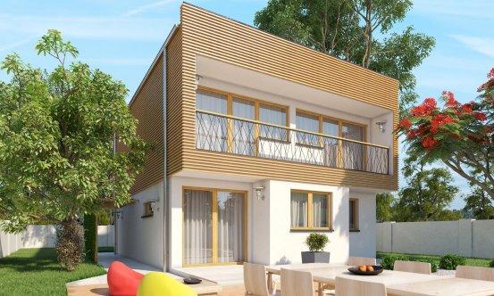 projekt domu CUBER 16