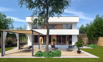 projekt domu CUBER 17
