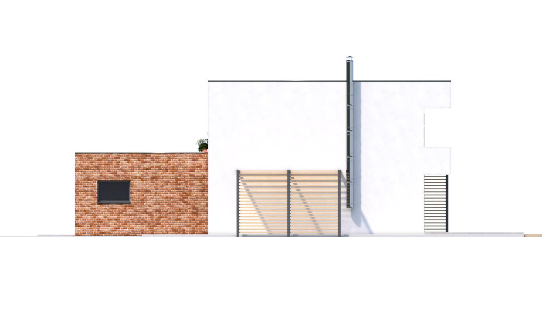 Pohľad 2. - Priestranný moderný rodinný dom s dvojgarážou.