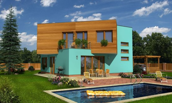 projekt domu CUBER 3