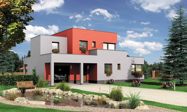 projekt domu CUBER 4