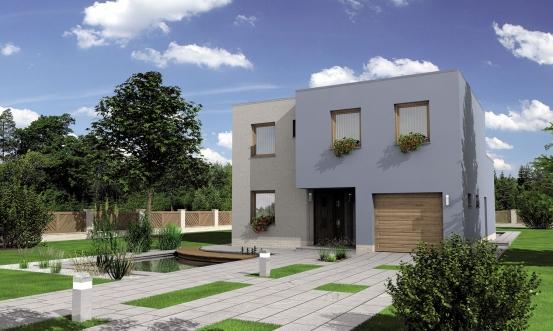projekt domu CUBER 7