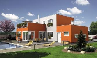 Moderný rodinný dom s terasou
