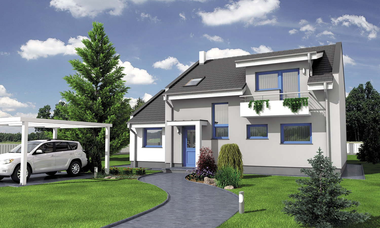 projekt domu DECOR 2
