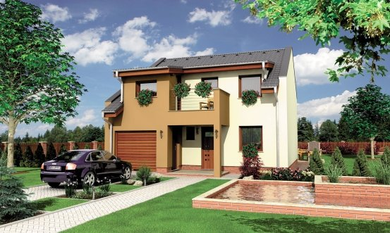 projekt domu DECOR