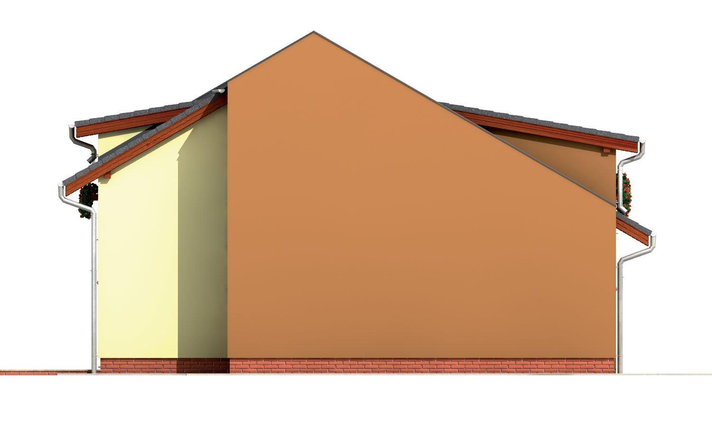Pohľad 2. - Moderný viacpodlažný rodinný dom