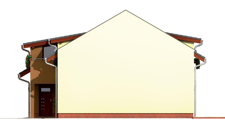 Pohľad 4. - Moderný viacpodlažný rodinný dom