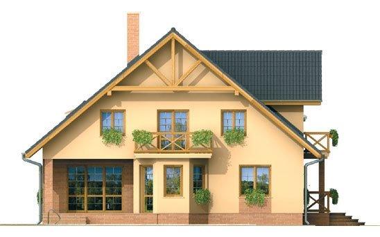Pohľad 2. - Veľký exkluzívny dom s dvojgarážou.
