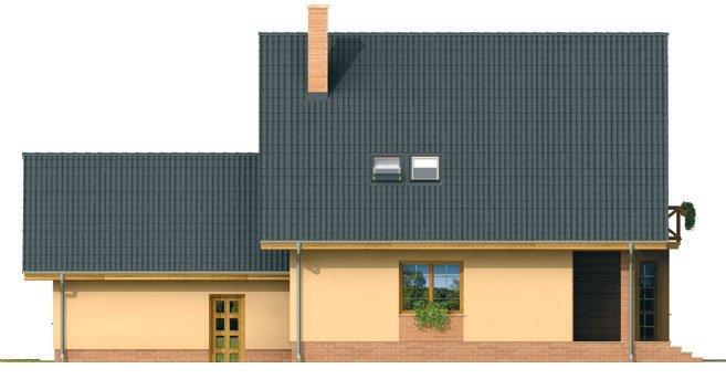 Pohľad 3. - Veľký exkluzívny dom s dvojgarážou.