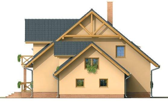 Pohľad 4. - Veľký exkluzívny dom s dvojgarážou.