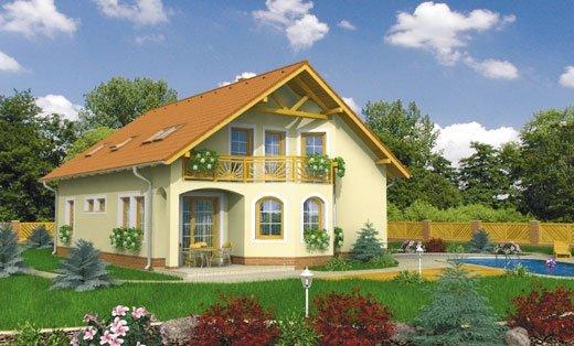 projekt domu DUO