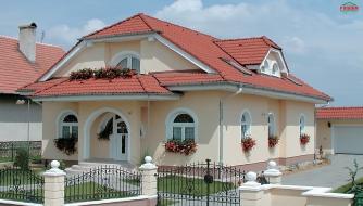 Veľký dom s obytným podkrovím