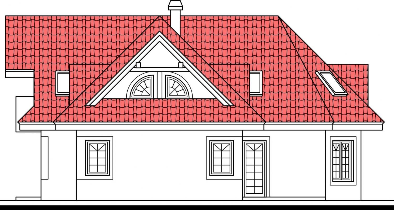 Pohľad 2. - Veľký dom podkrovný
