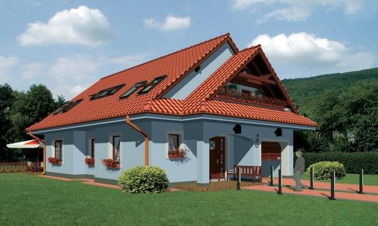 projekt domu ELEGANT 120