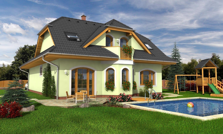 projekt domu ELEGANT 121