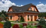 Elegantný dom s podkrovím