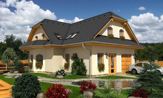 projekt domu ELEGANT 123