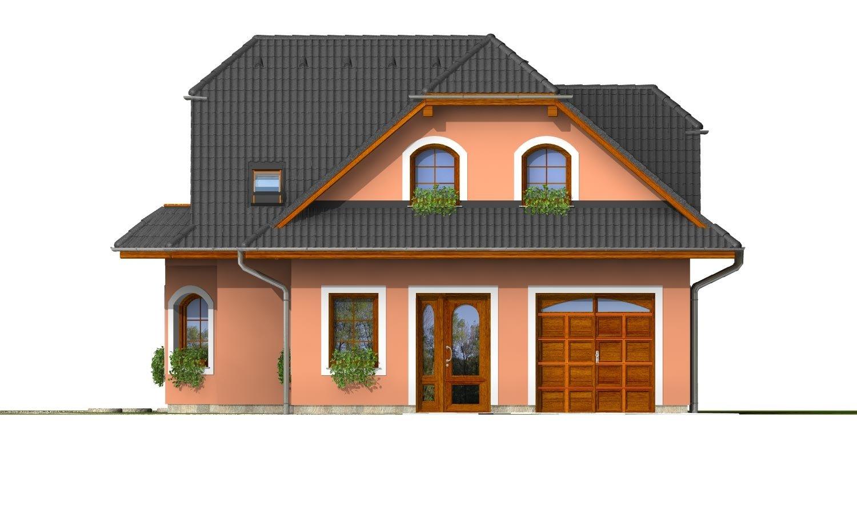 Pohľad 1. - Elegantný dom s podkrovím