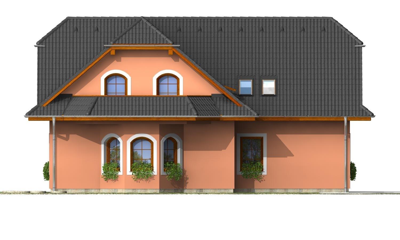 Pohľad 2. - Elegantný dom s podkrovím