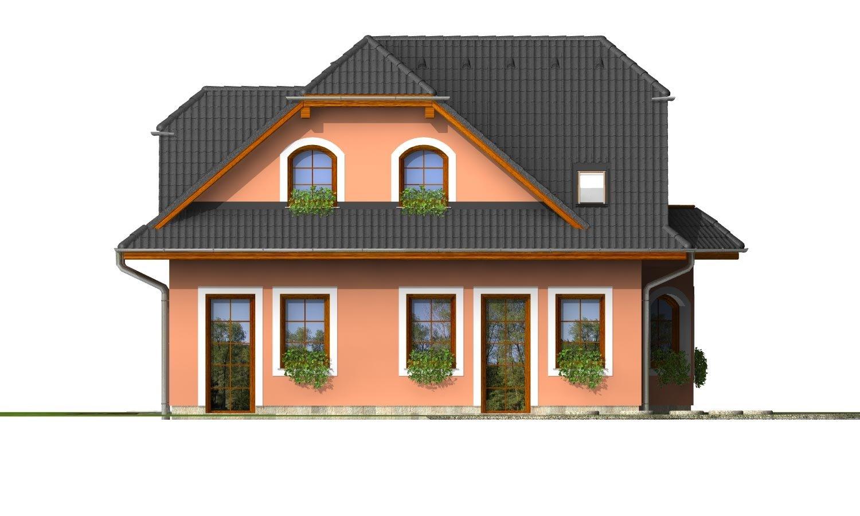 Pohľad 3. - Elegantný dom s podkrovím