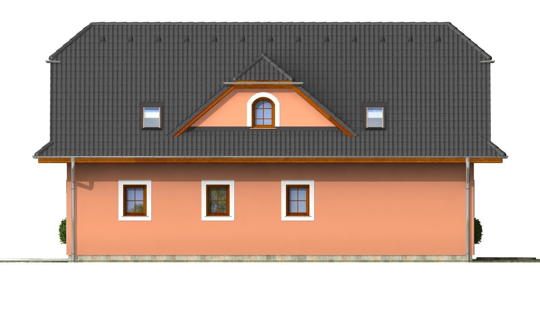 Pohľad 4. - Elegantný dom s podkrovím