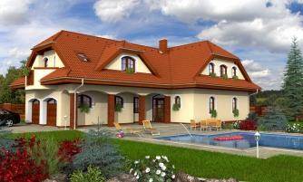 Veľký rodinný dom so suterénom