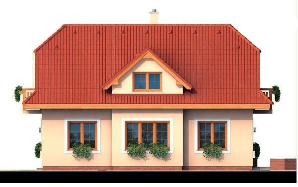 Pohľad 2. - 4-izbový domček vhodný na úzky pozemok