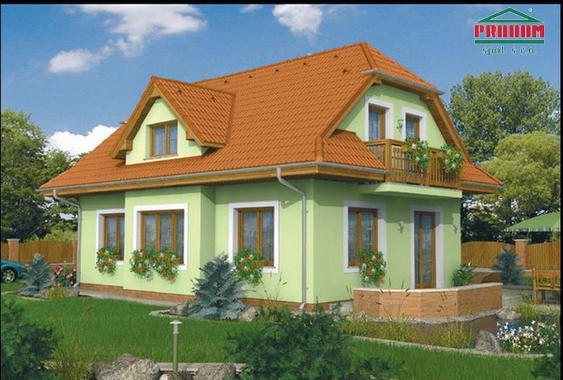 projekt domu ELEGANT 99