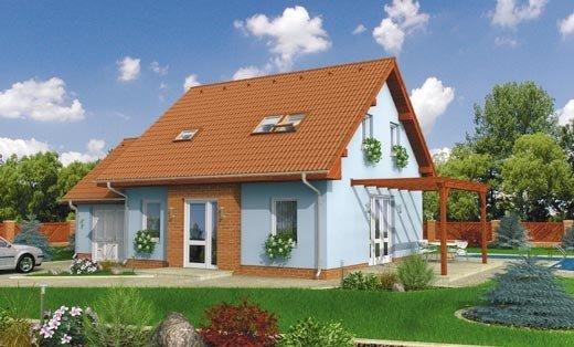 projekt domu ESO