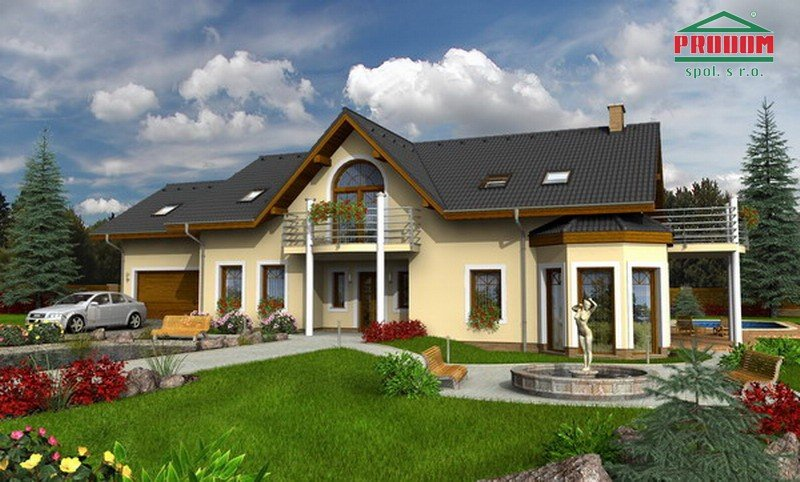 projekt domu EXCLUSIV 250