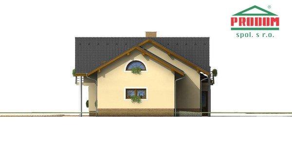 Pohľad 2. - Veľký exkluzívny rodinný dom