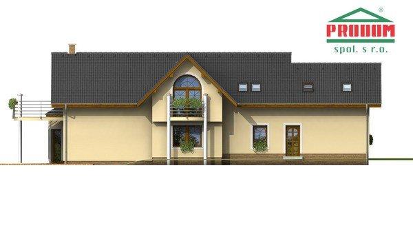 Pohľad 3. - Veľký exkluzívny rodinný dom