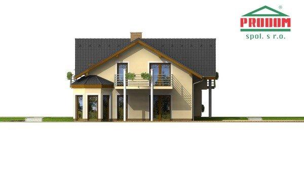 Pohľad 4. - Veľký exkluzívny rodinný dom