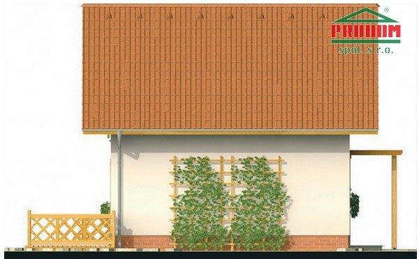 Pohľad 2. - Malý ekonomický projekt domu