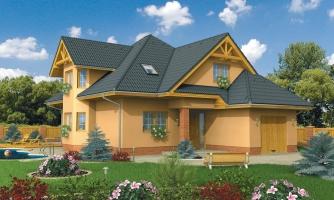Rodinný dom s obytným podkrovím