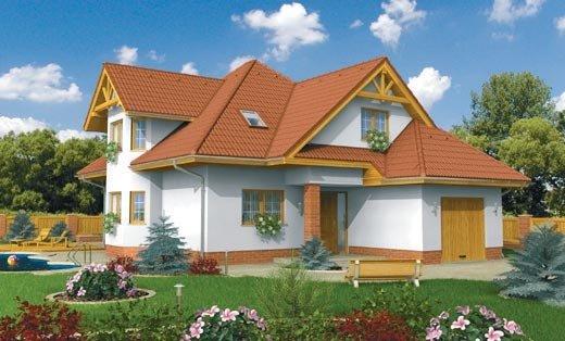 projekt domu FORTE