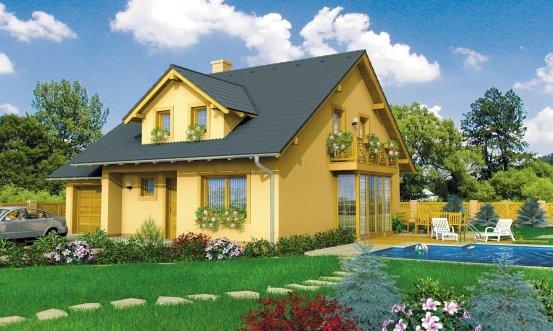 projekt domu GALANT