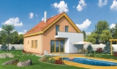 Poschodový dom na úzky pozemok