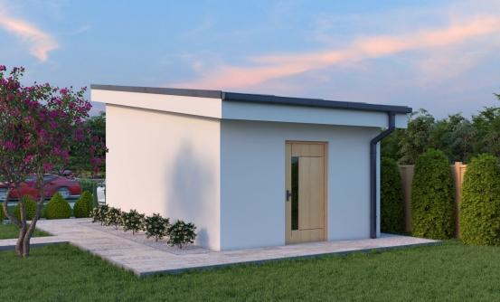 projekt domu GARÁŽ 4
