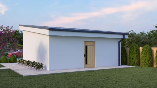 projekt domu GARÁŽ 5