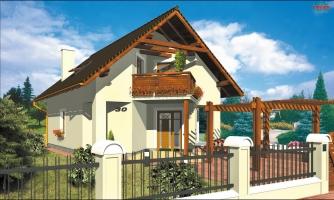 Klasický dom s podkrovím